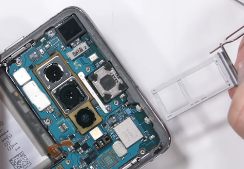 Замена стекла экрана Samsung Galaxy S10 5G