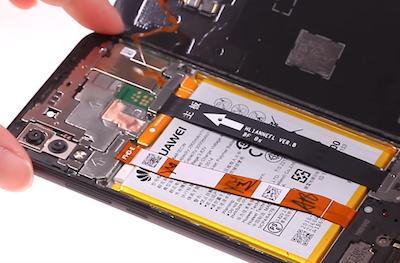 Ремонт замена стекла дисплея Huawei P20 lite