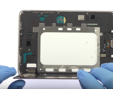 Ремонт замена стекла экрана дисплея Samsung Galaxy Tab