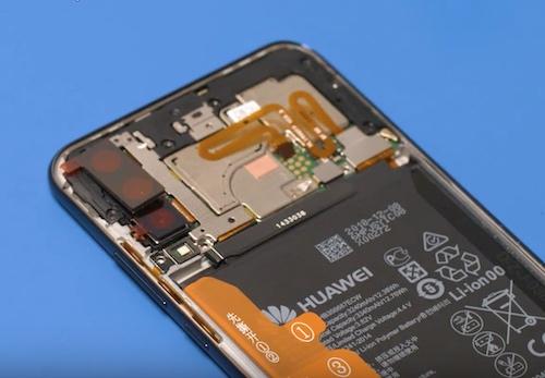 Замена дисплея Huawei P30 lite