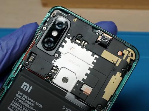 Замена камеры Mi Mix 3 5G