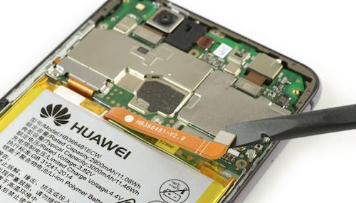 Замена стекла Huawei P10 lite