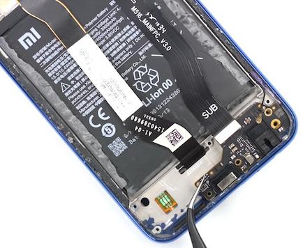 Замена стекла Xiaomi Redmi Note 8