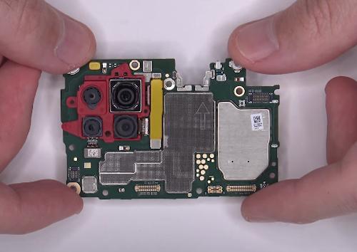 Замена стекла экрана Huawei P40 lite