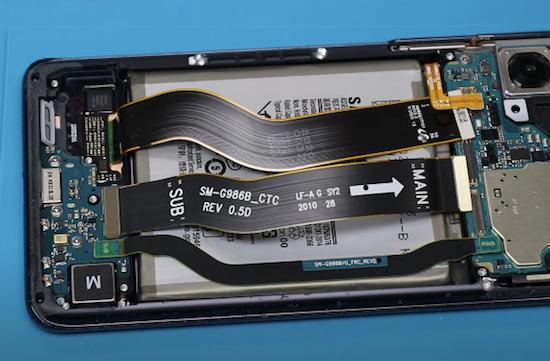 Ремонт замена стекла Samsung Galaxy S20 Plus 5G