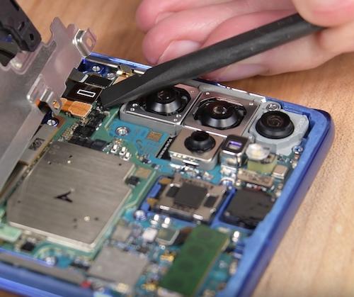 Замена стекла экрана Samsung Galaxy S20 Plus