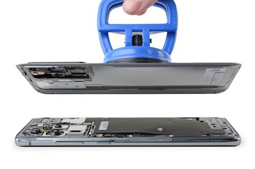 Замена стекла экрана Samsung Galaxy S20 Ultra