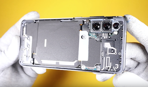 Замена стекла экрана Samsung Galaxy S20